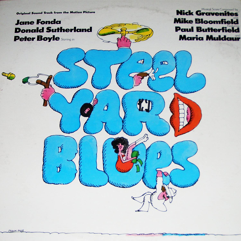 Steelyard Blues; Original Max 86% Max 67% OFF OFF Motion 1972 Soundtrack; picture Vinyl