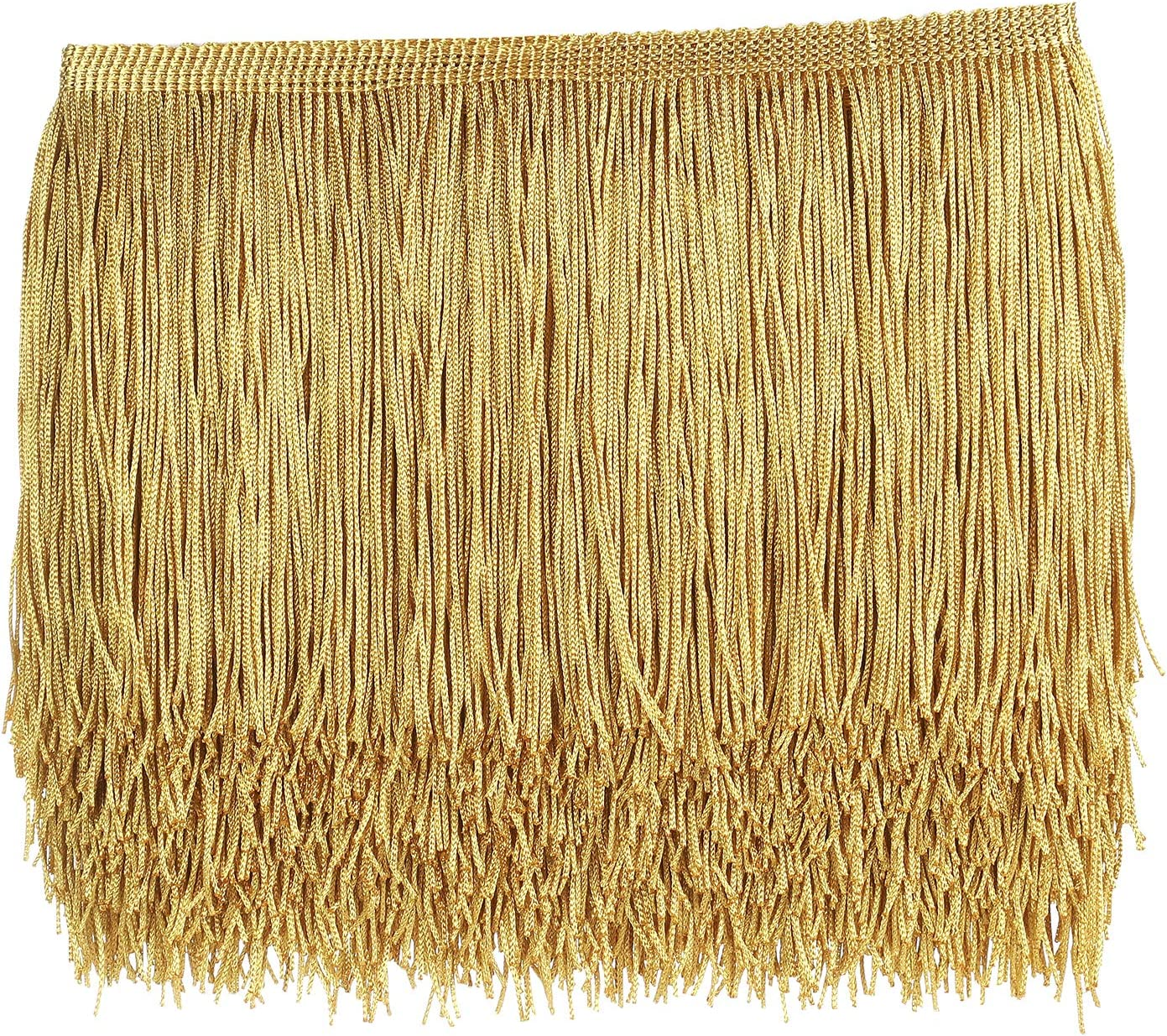 10 Meters 7.8\u201c Long Lace Trim Tassel Fringe Trimming For Diy Latin Dress Stage Clothes Accessories