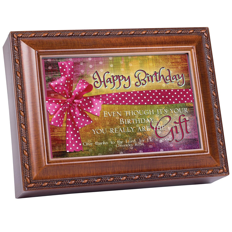 【★超目玉】 Cottage Garden Garden Cottage Happy誕生日Woodgrain音楽ボックス/ジュエリーボックスPlays B00BRX7B6K Happy誕生日 B00BRX7B6K, 水上村:bd88f3f4 --- arcego.dominiotemporario.com
