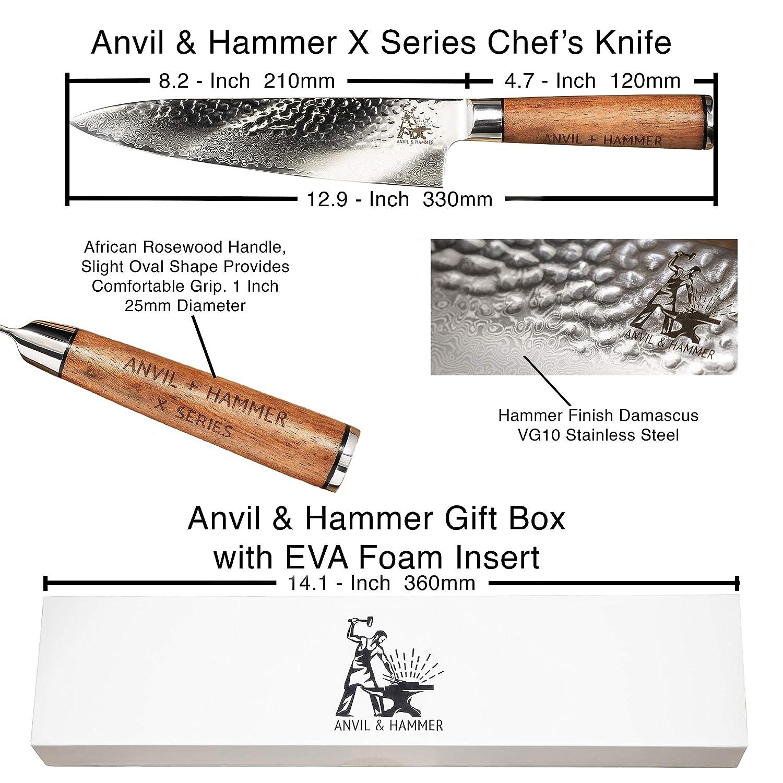 Amazon.com: ANVIL & HAMMER X SERIES – 8