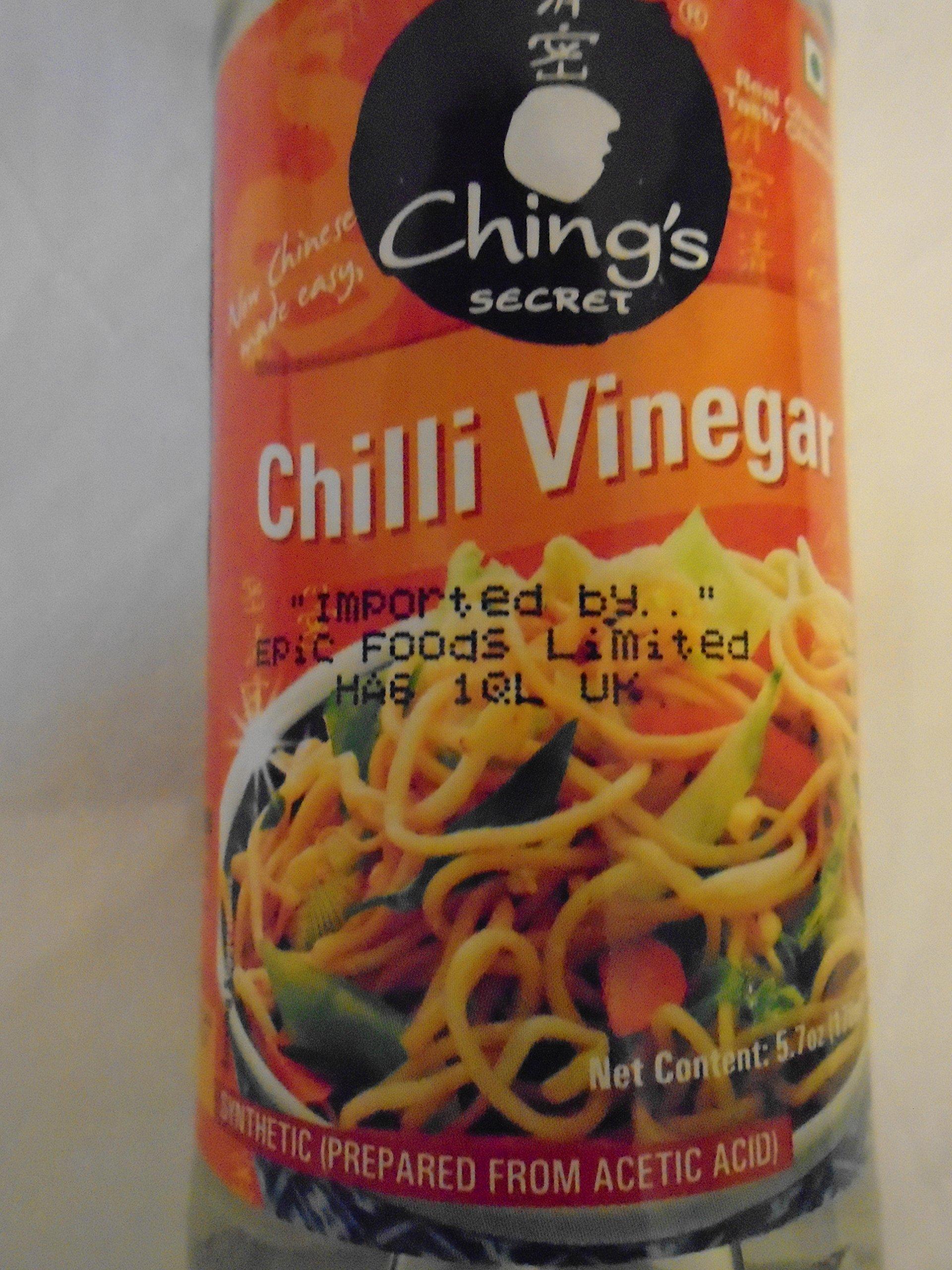 Chings Chilli Vinegar 5.7 Ozl