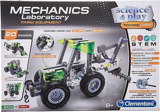 Clementoni 61326 Mechanics Laboratory Aeroplanes and Helicopters Science Kit