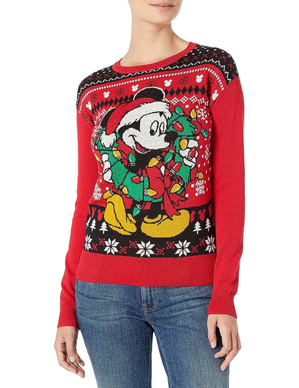 Disney Womens Ugly Christmas Sweater