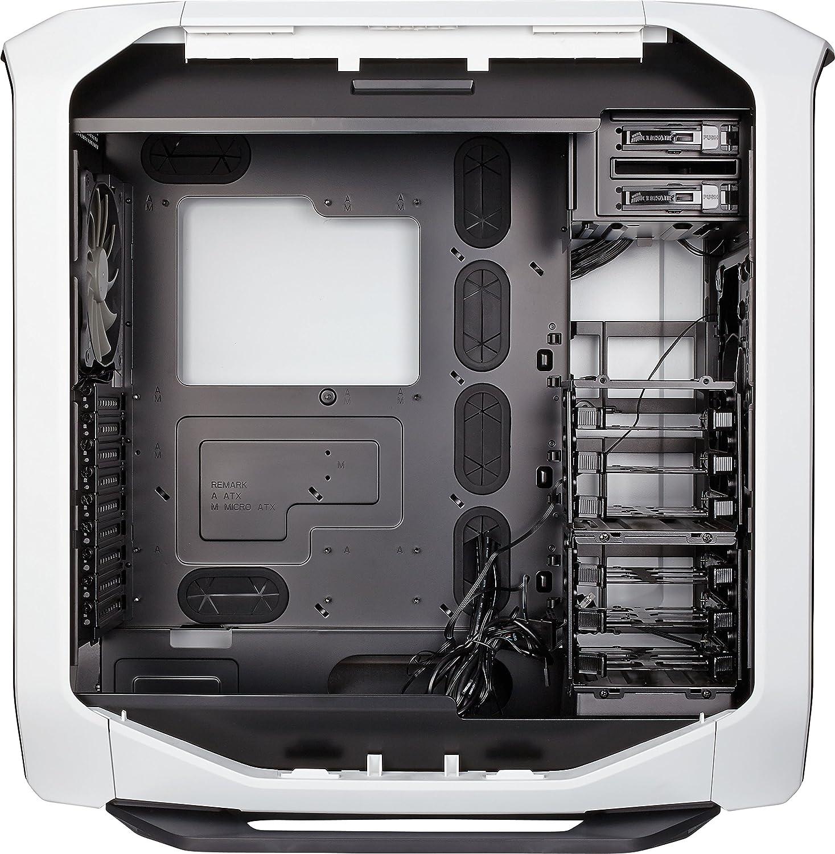 ventana lateral con dos AF140 rojo LED ventilador Caja de PC Corsair Graphite 780T Full-Tower ATX negro