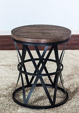 Amazon.com: Lane Home Furnishings 7328-40 - Mesa de barril ...