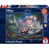 "Schmidt Spiele Puzzle 59480 - Puzzle ""Thomas Kinkade"", 1000 Teile, Disney Rapunzel"