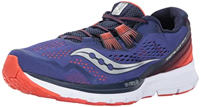 e2e0cc07d8a5 Saucony Men s Zealot ISO 3 Running Shoe Blue Orange 7 ...