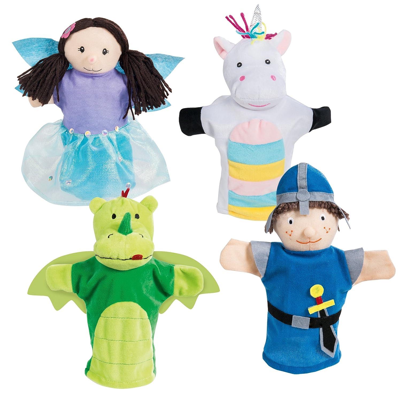 Marionetas, títeres de peluche