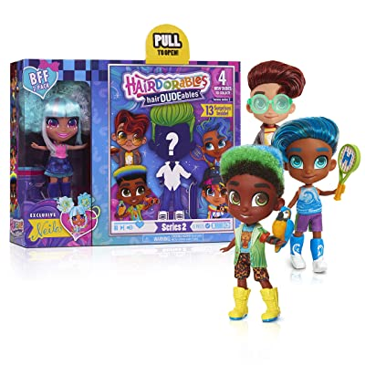 Hairdorables BFF Pack (hairDUDEables) Series 2?: Toys & Games