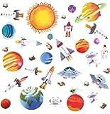 RoomMates Stickers muraux repositionnables Enfant Espace