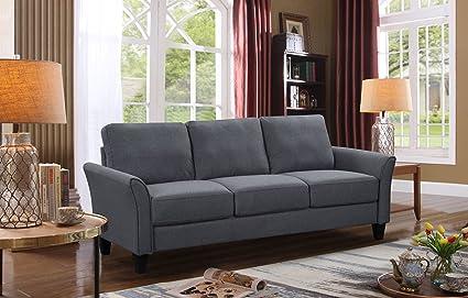 Fabulous Harperbright Designs Living Room Sets Furniture Armrest Sofa Single Chair Sofa Loveseat Chair 3 Seat Sofa 3 Seat Sofa Grey Alphanode Cool Chair Designs And Ideas Alphanodeonline