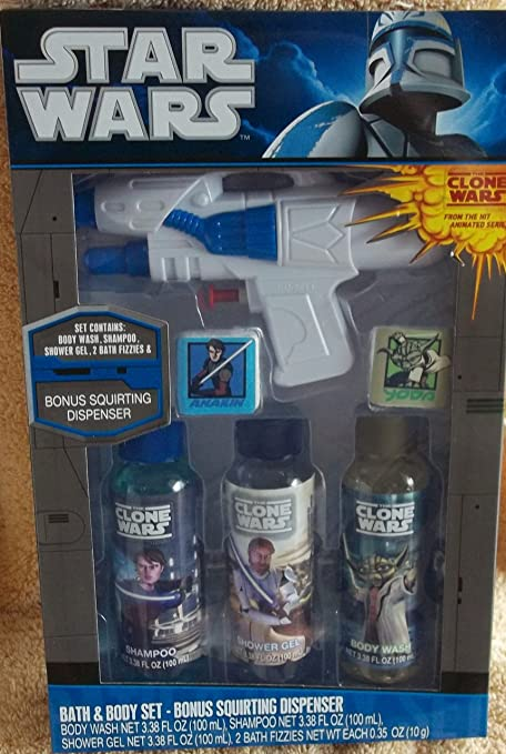 Amazon.com: Star Wars Bath & Body Set: Toys & Games