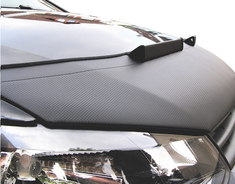 Bonnet bra A3 8P CARBON Stoneguard Protector Hood Bra Car Bonnet Front End Mask Cover Tuning NEW