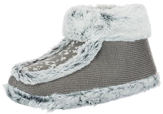 brandsseller Zapatillas de Estar por casa de Material Sint/ético para Mujer