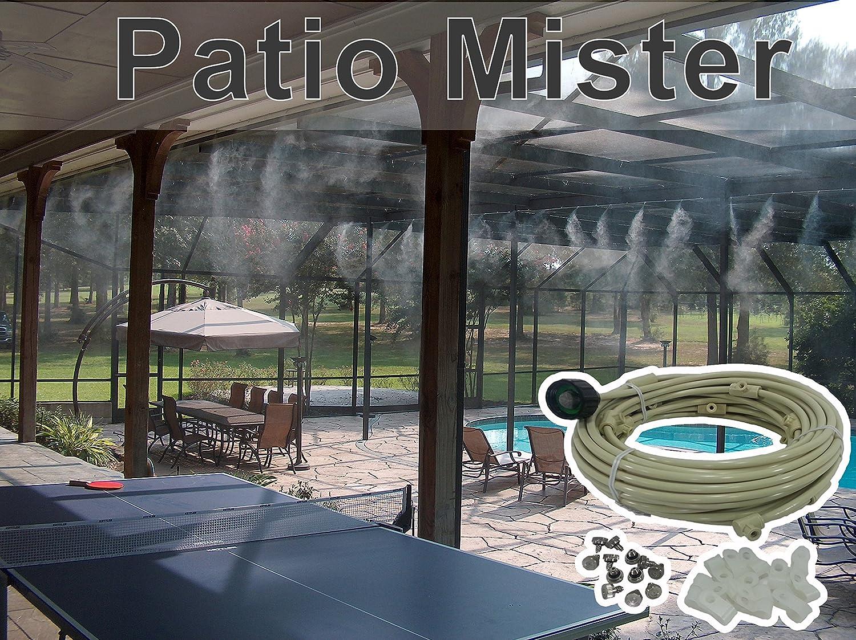 amazon com patio misting system for backyard patio gazebos