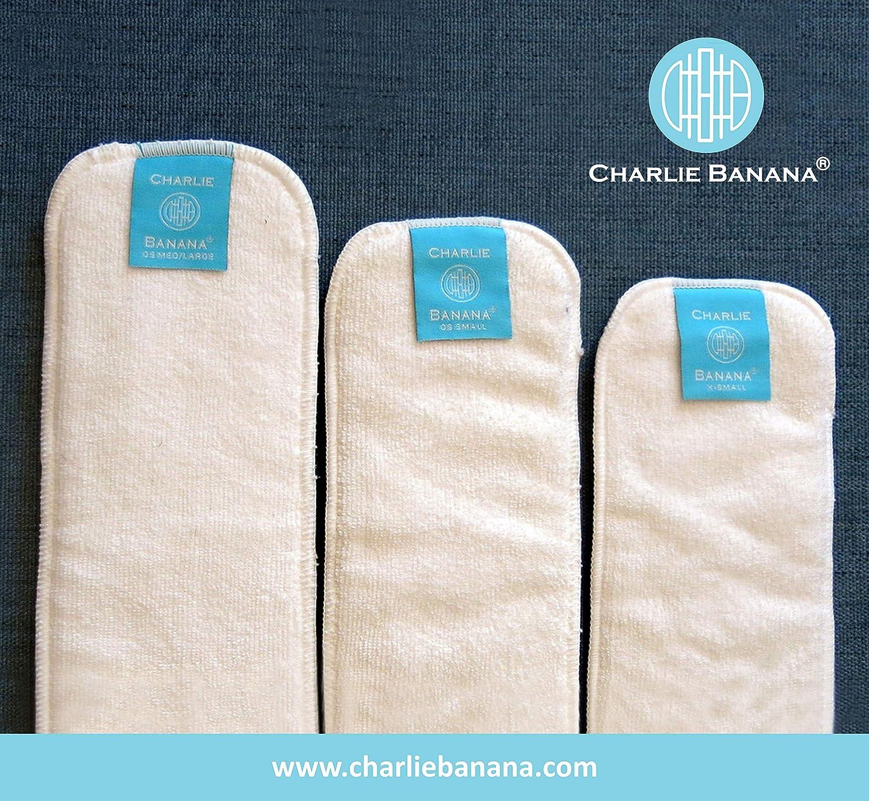 Medium//Large, Hemp Charlie Banana Nappy Diaper Inserts