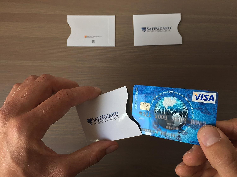 Amazon smart ideas usa rfid credit card protector sleeves amazon smart ideas usa rfid credit card protector sleeves set of 10 cc 2 passport best for identity theft premium quality protection magicingreecefo Images