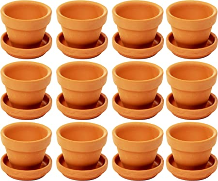 "15 x Whitefurze 6/"" Plant Pots 5 x pk3"
