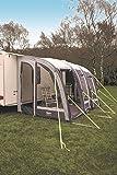 Leisurewize Ontario 280Air Auvent pour caravane Gris/gris anthracite