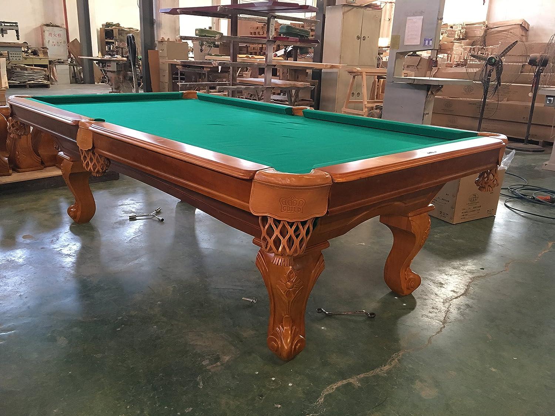 Mesa de billar mesa de billar 8 pies Tunierbillard: Amazon.es: Deportes y aire libre