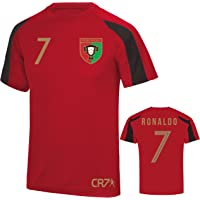 D2W Ronaldo CR7 Portugal Tribute World Cup 2018 Adults & Childrens Sports Tee