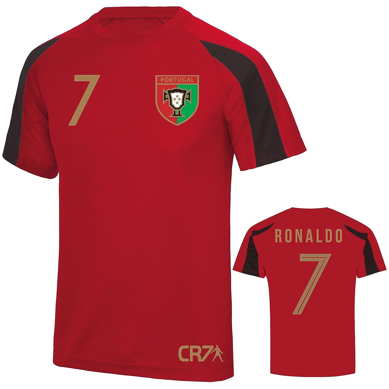 e538a8cf170 D2W Ronaldo CR7 Portugal Tribute World Cup 2018 Adults   Childrens Sports  Tee
