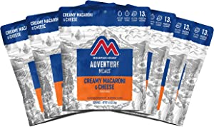 Mountain House Creamy Macaroni & Cheese | Freeze Dried Backpacking & Camping Food | Survival & Emergency Food