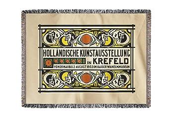 Künstler Krefeld amazon de hollandische kunstausstellung in krefeld vintage poster