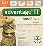 Advantage II for Cats 5-9 Lbs. ~~ 4 Months