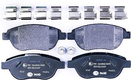 Mintex mdb2186/Juego de pastillas de freno
