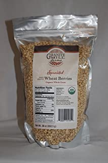 product image for Stone Ground Sprouted Organic Soft White Wheat Berries, 30 oz