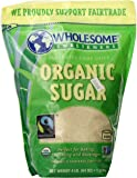 Wholesome Sweeteners Sugar, Og, Ft, Evaporat Cane, 64-Ounce