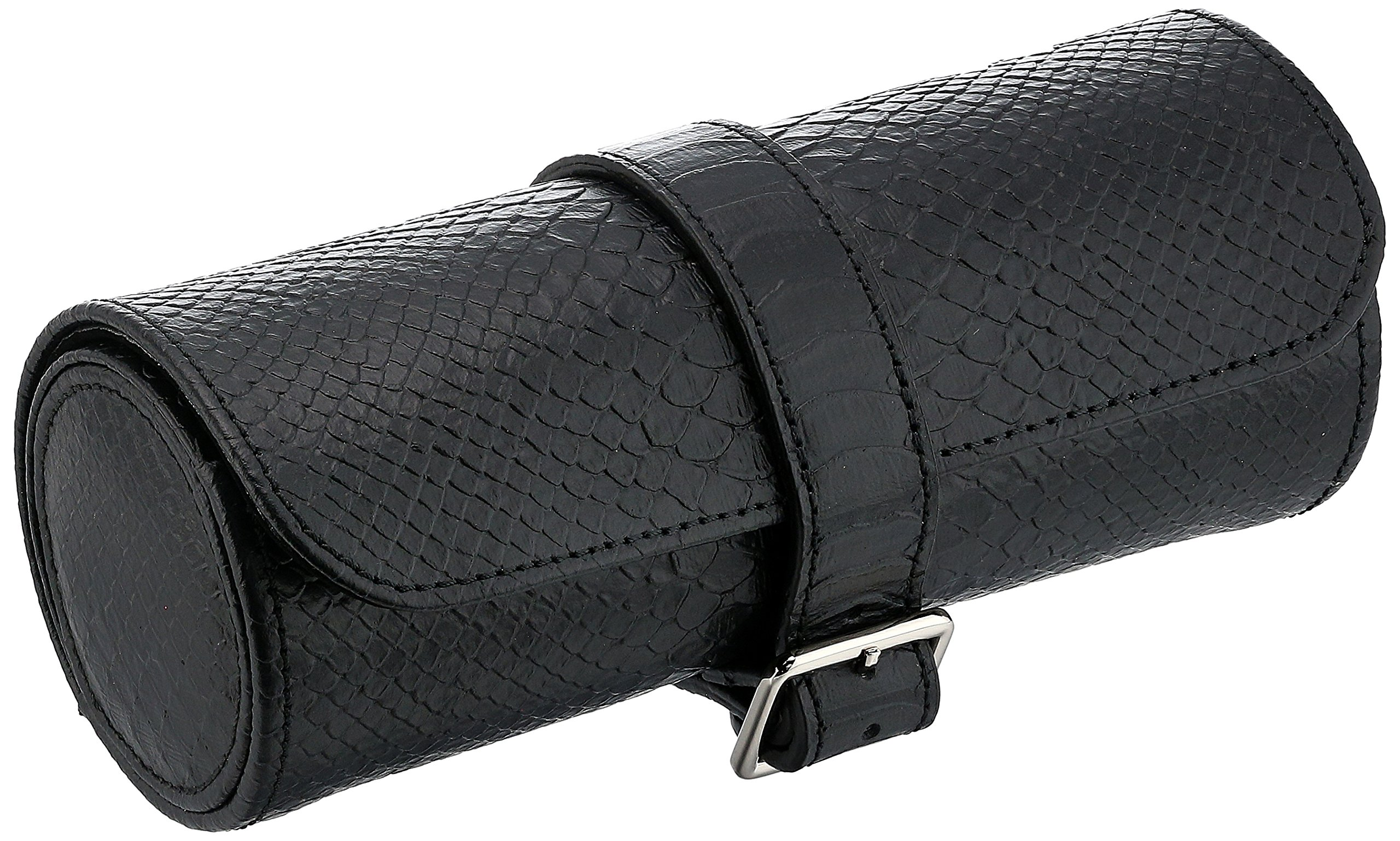 WOLF 462820 Leather Lizard Watch Case