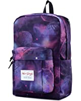 HotStyle 599s Trendy Printed School Backpack | Unisex | Holds 15.6-inch Laptop