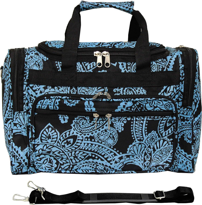 World Traveler 81T16-589 Duffle Bag, One Size, Multi Paws