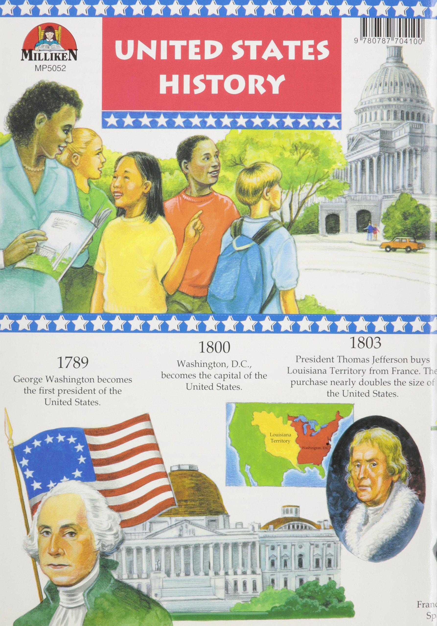 Us History Timeline Milliken Publishing 9780787704100 Amazon