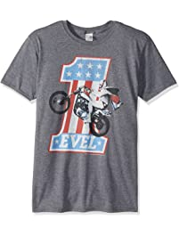 American Classics Unisex-Adult Evel Knievel One Level Adult Short Sleeve T-Shirt T-Shirt