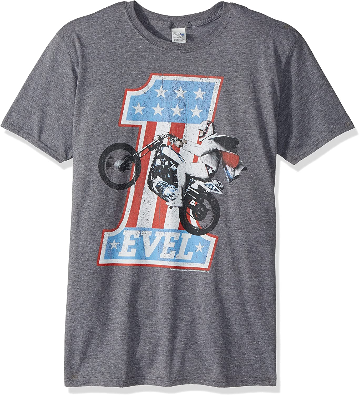 American Classics Evel Knievel One Level Adult Short Sleeve T-Shirt