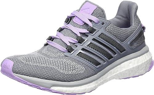 parque bordillo la carretera  adidas Women's Energy Boost 3 W Running Shoes, Multicolor - mehrfarbig  (Clonix/Cblack/Purglo), 4 UK: Amazon.co.uk: Shoes & Bags