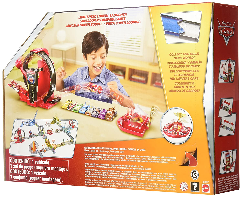 Hot Wheels Cars - Coche, superlooping Lanzador (Mattel DJC57): Amazon.es: Juguetes y juegos