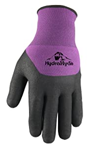 Women's Winter Gloves, Water-Resistant Grip Coating, Medium (Wells Lamont 554M)