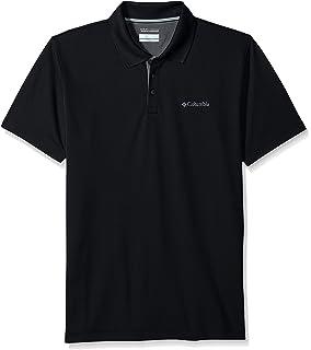 ad4327f1 Amazon.com: Columbia Men's Perfect Cast Polo Shirt, Moisture Wicking ...