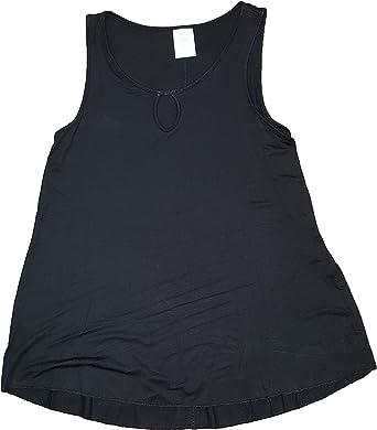Secret Treasures Black Soot Dolman Sleeve Sleep Top Tee