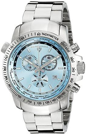 Amazon Swiss Legend Mens 10013 102 World Timer Chronograph