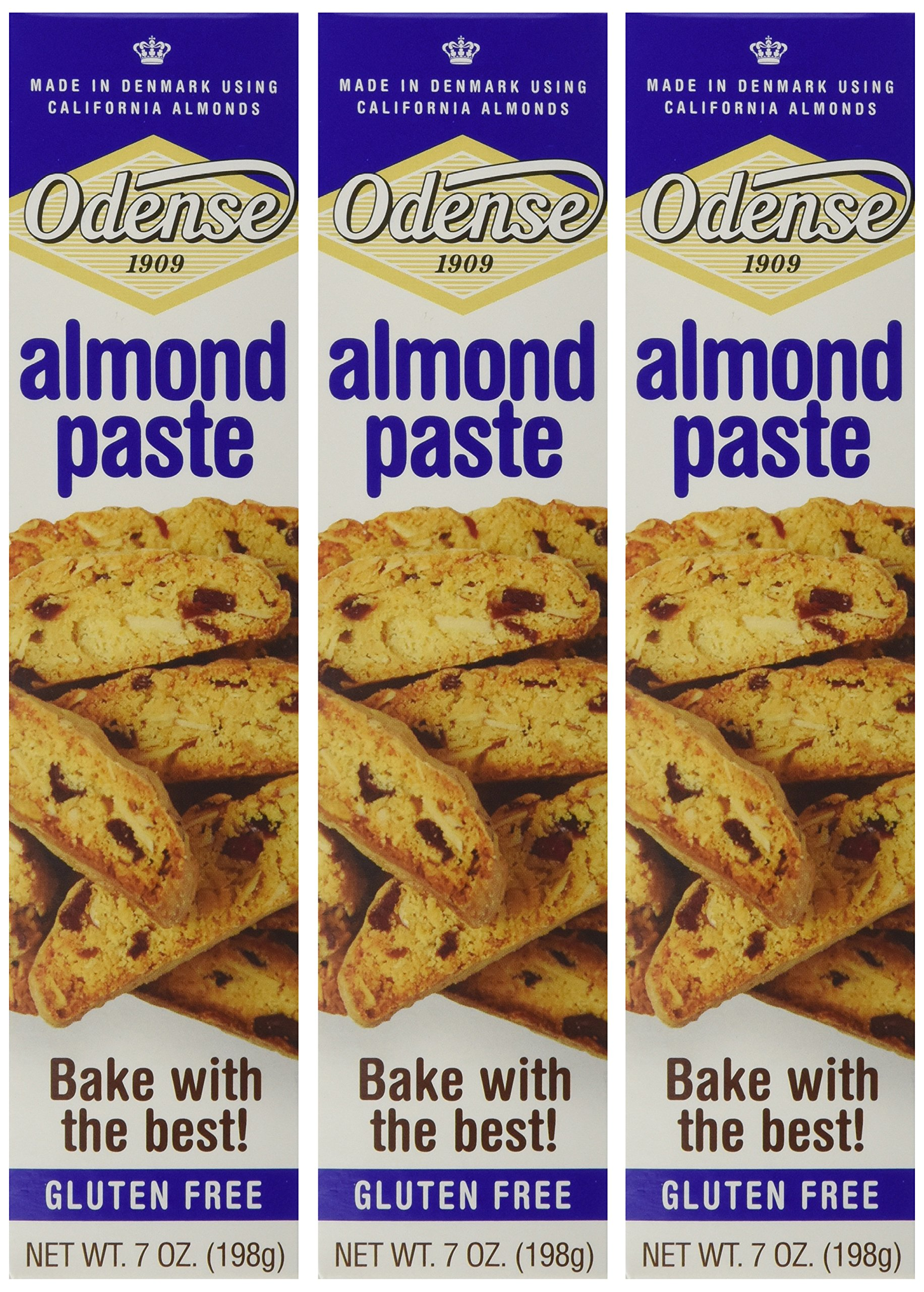 Odense Almond Paste - 3 Pack Value Bundle