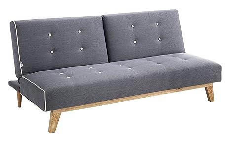 Wink design tweet a divanoletto tessuto grigio 86x82x180 cm