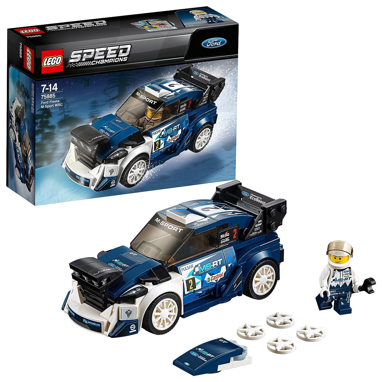 Lego 75885 Speed Champions Ford Fiesta M Sport Wrc Rally Toy Car