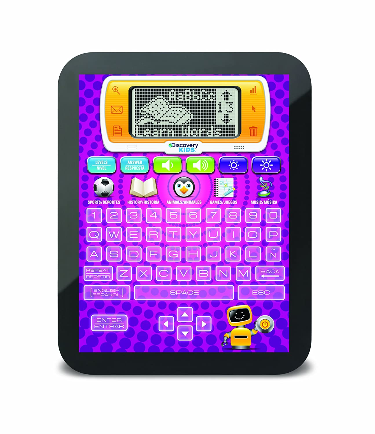 Amazon Discovery Kids Bilingual Teach and Talk Tablet