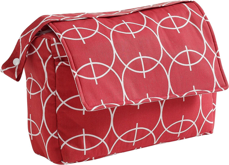Mona Ferre 98004 07/Sac /à langer en /à langer en coton rouge