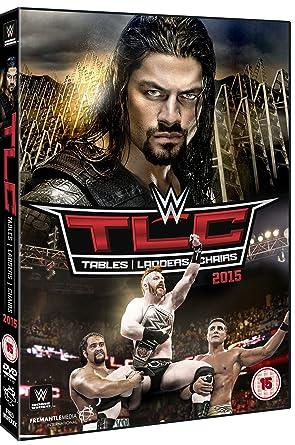 Amazon com: WWE: TLC - Tables, Ladders & Chairs 2015 [DVD